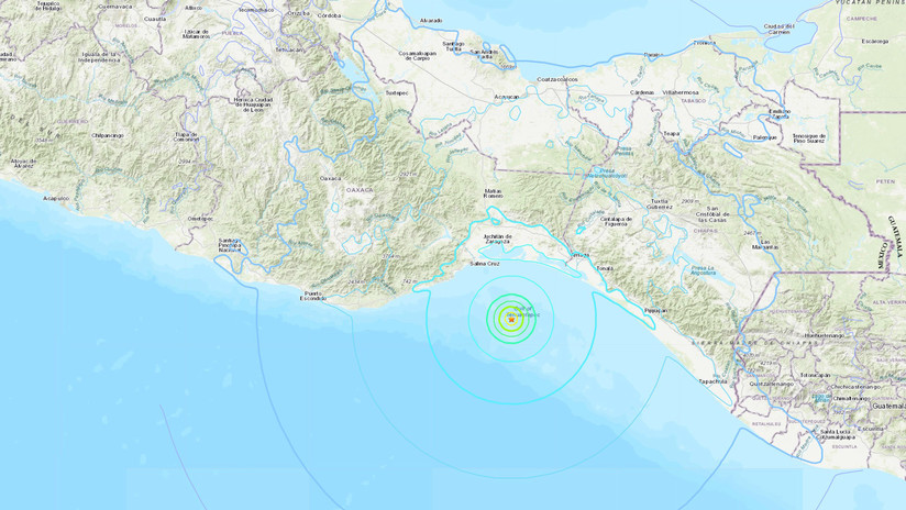 Se registra un terremoto de magnitud 5,8 en México