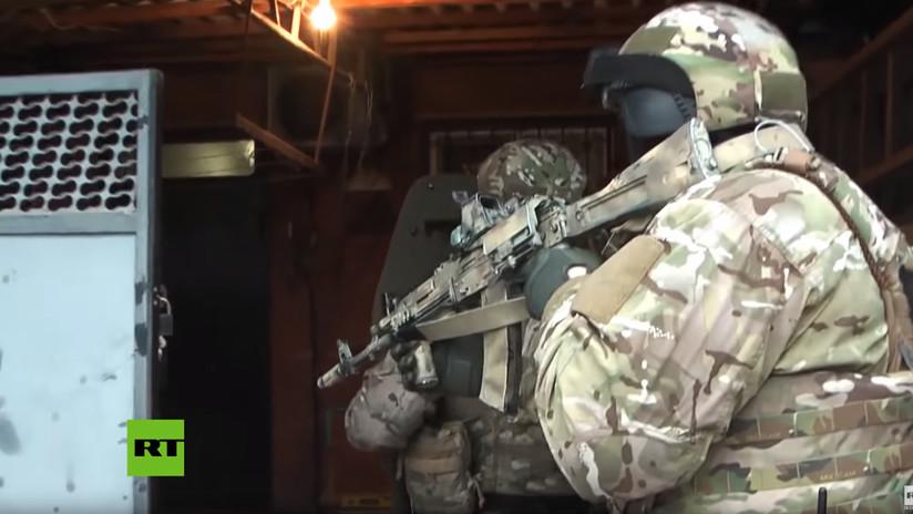 VIDEO: Desarticulan en Rusia una célula secreta que recaudaba fondos para el Estado Islámico