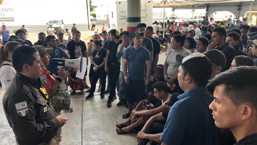 Casi 5.000 centroamericanos esperan por tarjetas humanitarias en frontera con México