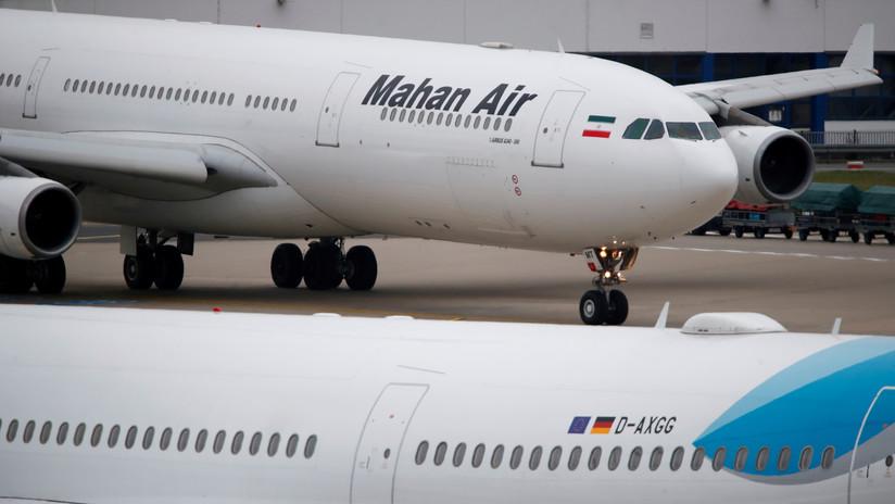 Alemania prohíbe realizar vuelos a su país a la aerolínea iraní Mahan Air, sancionada por EE.UU.