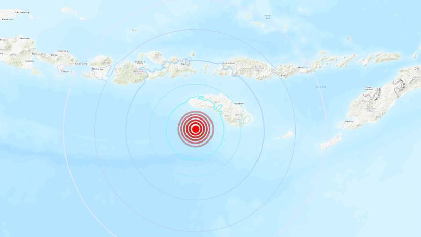 Un sismo de magnitud 6,0 sacude la parte central de Indonesia