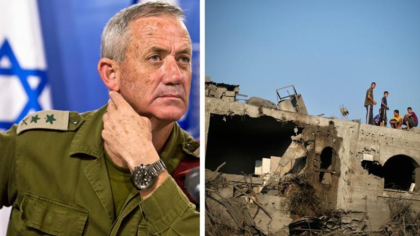 """Devolver Gaza """"a la Edad de Piedra"""": La polémica campaña de un candidato a primer ministro de Israel"""