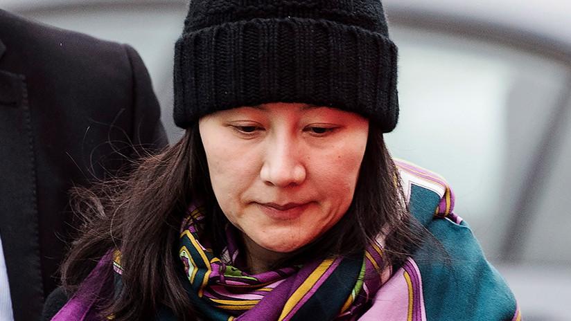 China exige que EE.UU. retire la petición a Canadá de que extradite a la jefa financiera de Huawei