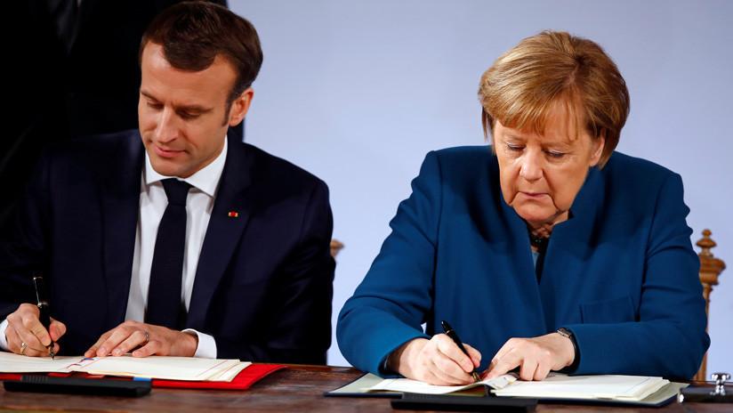 Alemania y Francia firman un tratado para abrir una nueva página en la cooperación bilateral