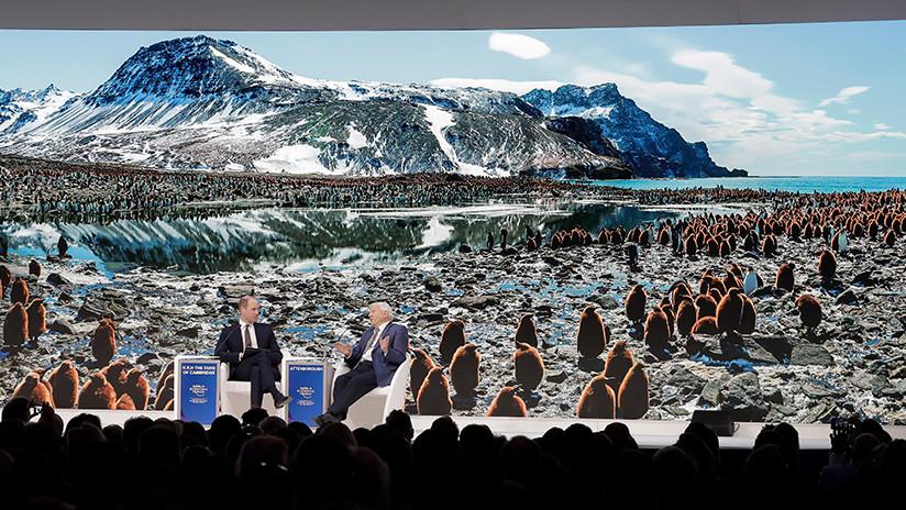 Pese a la alarma por el calentamiento global: 1.500 jets privados aterrizan para el Foro de Davos