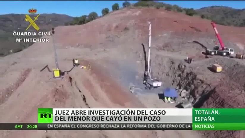 Juzgado abre una investigación sobre el caso del niño español que cayó en un pozo