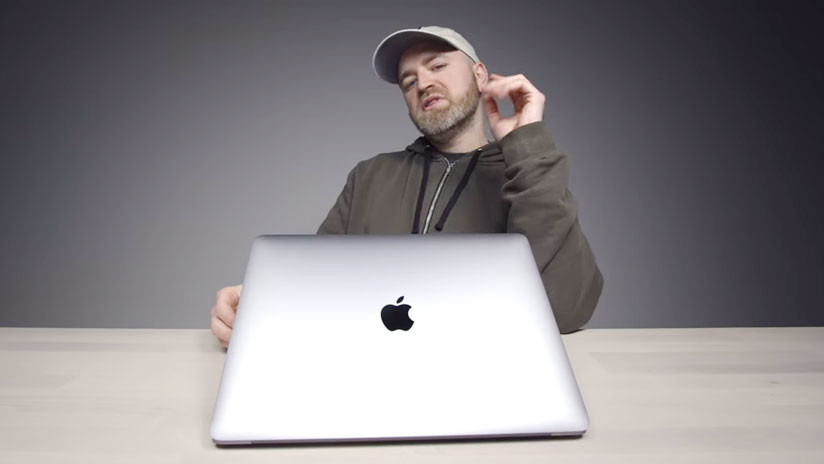"""""""Te volverás loco cuando te pase"""": Revelan un molesto error de teclado en el MacBook Air (VIDEO)"""