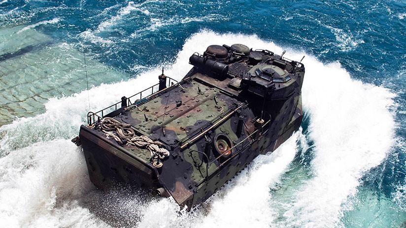 Así será el nuevo vehículo de combate anfibio de la Infantería de Marina de EE.UU.