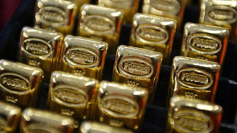 La Bolsa de Moscú propone sustituir en Rusia el dólar por el oro