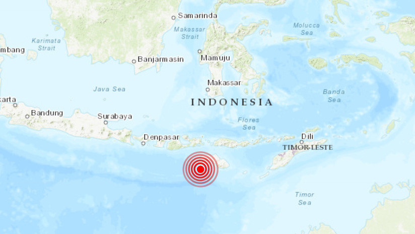 Un sismo de magnitud 5,5 sacude las costas de Indonesia