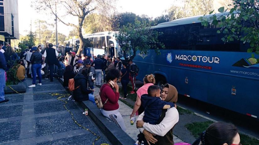 Comienza el retorno de venezolanos a su país tras la ola de ataques xenófobos en Ecuador