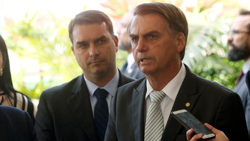 """Bolsonaro sobre los movimientos """"sospechosos"""" de su hijo: """"si cometió un error, tendrá que pagar"""""""