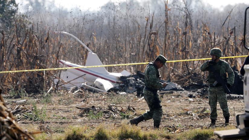 """La caída del helicóptero que causó la muerte de la gobernadora de Puebla fue """"inusual"""""""