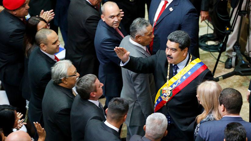VIDEO: Nicolás Maduro se pronuncia tras la autoproclamación de Juan Guaidó como presidente