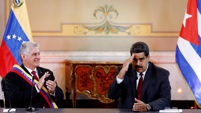 """Cuba expresa """"firme apoyo y solidaridad"""" al presidente venezolano Nicolás Maduro"""