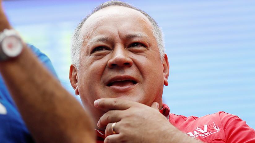 Venezuela: Diosdado Cabello confirma que se reunió con Juan Guaidó