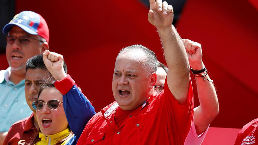 """Cabello advierte a EE.UU.: """"Es muy probable que entren a Venezuela, lo difícil será salir"""""""