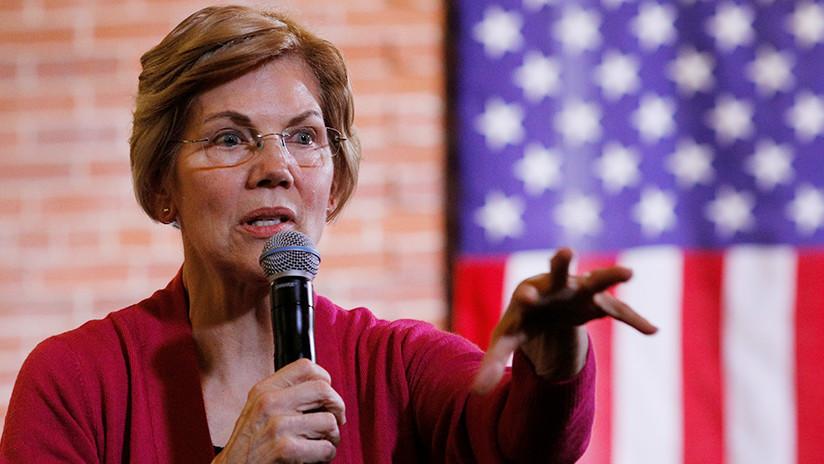 Elizabeth Warren visita Puerto Rico y promete ayuda tras el paso del huracán María