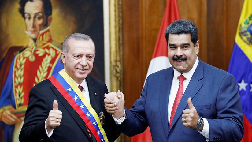 """Turquía ofrece """"todo su apoyo"""" a Maduro"""