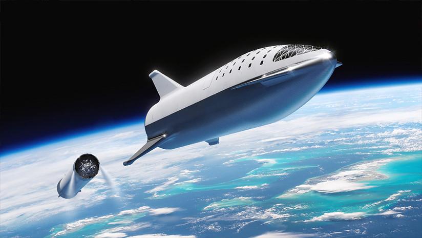 Fuertes vientos derrumban el prototipo del cohete de SpaceX con el que Musk pretende conquistar Marte