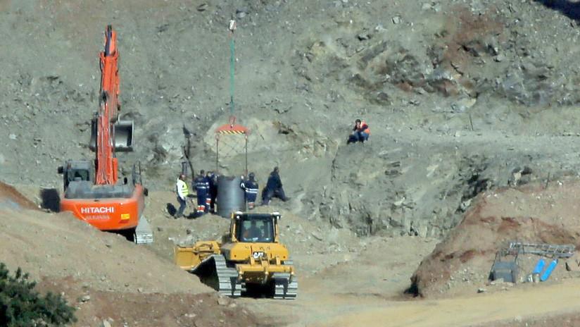 Los mineros inician el descenso para rescatar a Julen, el niño español atrapado en un pozo desde hace 11 días
