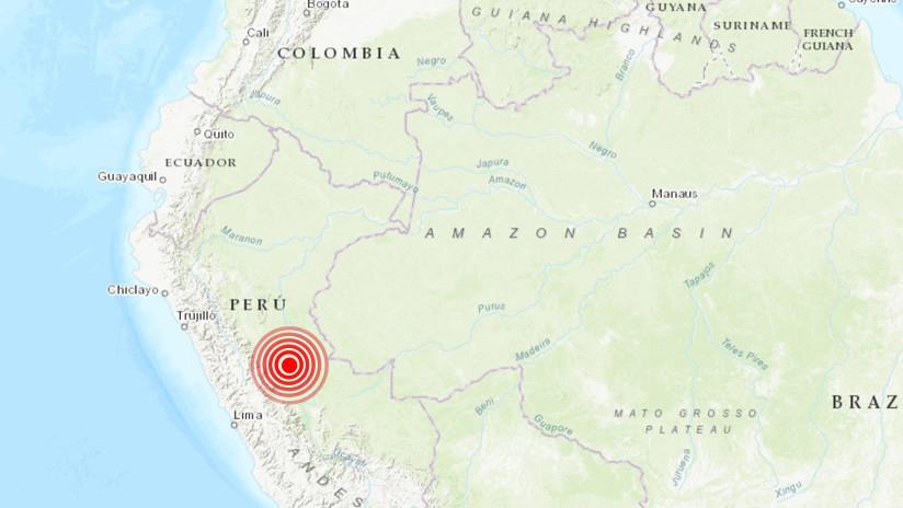 Un sismo de magnitud 5,1 sacude el centro de Perú