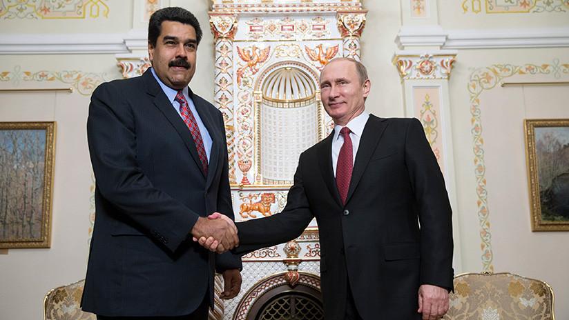 Putin expresa su apoyo al Gobierno legítimo de Venezuela en una conversación telefónica con Maduro