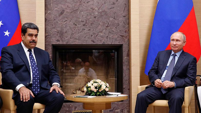 """Maduro agradece a Putin el apoyo """"solidario"""" al Gobierno constitucional de Venezuela"""