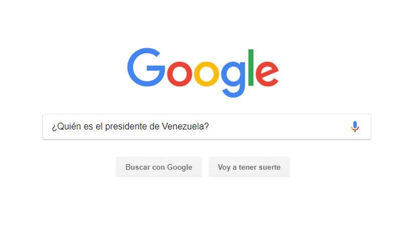 """""""¿Quién es el presidente de Venezuela?"""": La pregunta más buscada por los brasileños Google"""
