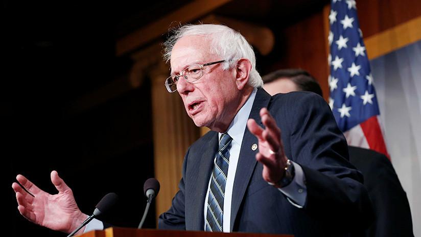 """Bernie Sanders sobre el rol de EE.UU. en Venezuela: """"No debemos apoyar golpes de Estado"""""""