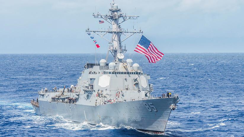 Dos buques de EE.UU. atraviesan el estrecho de Taiwán en medio de tensiones con China