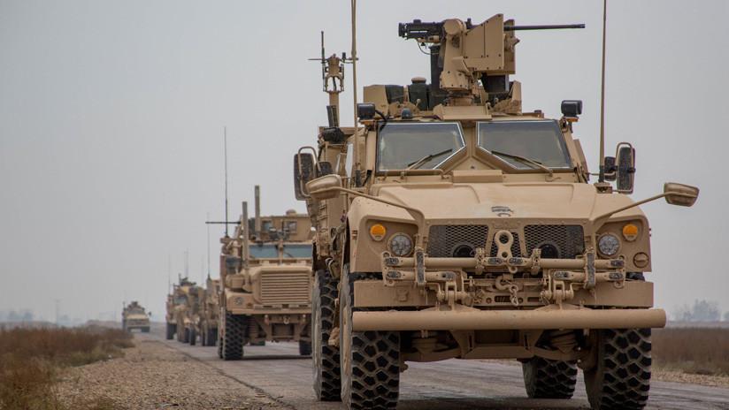 VIDEO: Un numeroso convoy militar de EE.UU. entra en Siria desde Irak