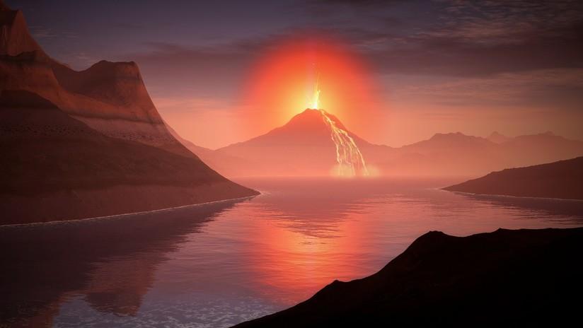 La erupción de un enorme volcán prehistórico en Reino Unido contribuyó al calentamiento global