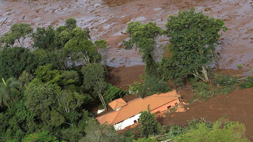 """""""No esperábamos una catástrofe como esta"""": Alcalde brasileño tras la ruptura del dique minero"""