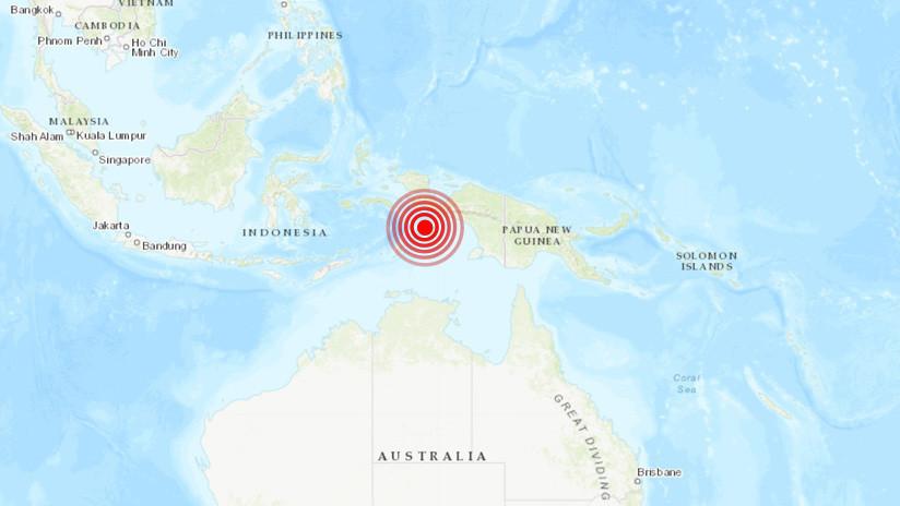 Se registran fuertes sismos en Indonesia y las Islas Salomón