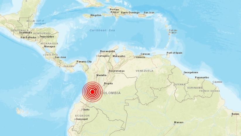 Temblor de 5.5 grados se sintió en gran parte de Colombia