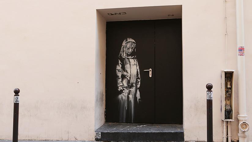 Roban homenaje de Banksy a víctimas de teatro Bataclan