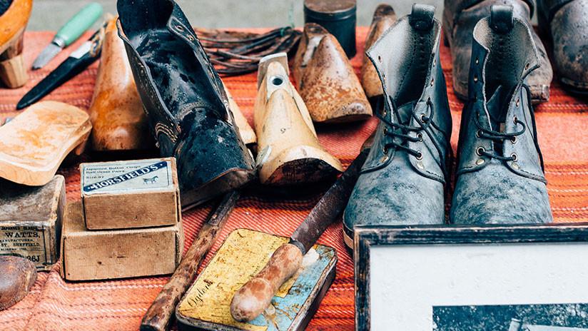 Arqueólogo amateur halla un zapato de 1.000 años en el río Támesis (FOTO)