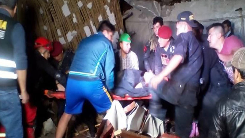 Boda termina en tragedia por derrumbe en Perú; 15 muertos