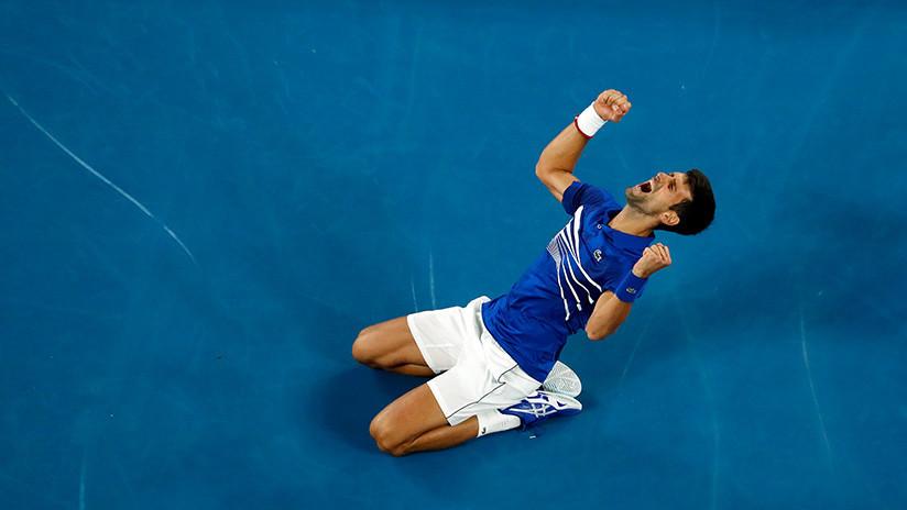 """""""Déjalo, ya está muerto"""": Cómica reacción de la Red tras la rotunda victoria de Djokovic ante Nadal en Australia"""