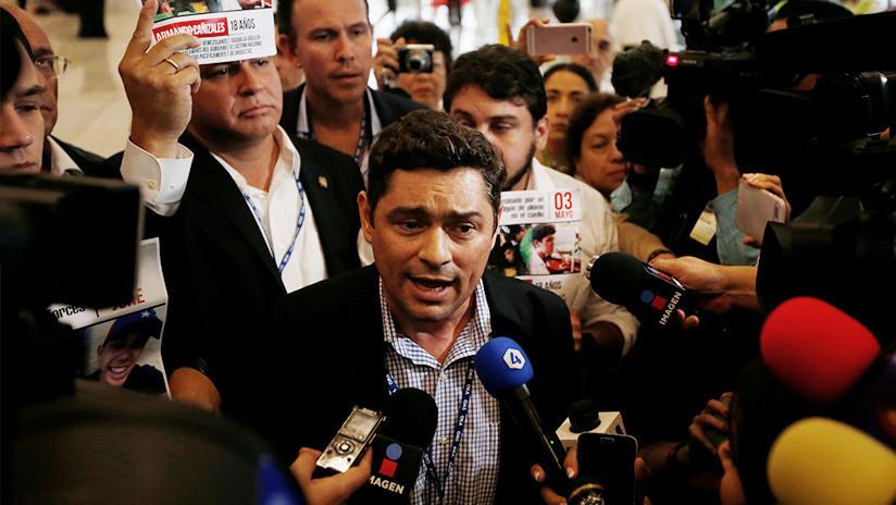 """EE.UU. acepta al """"encargado de negocios venezolano en EE.UU."""" designado por Guaidó"""
