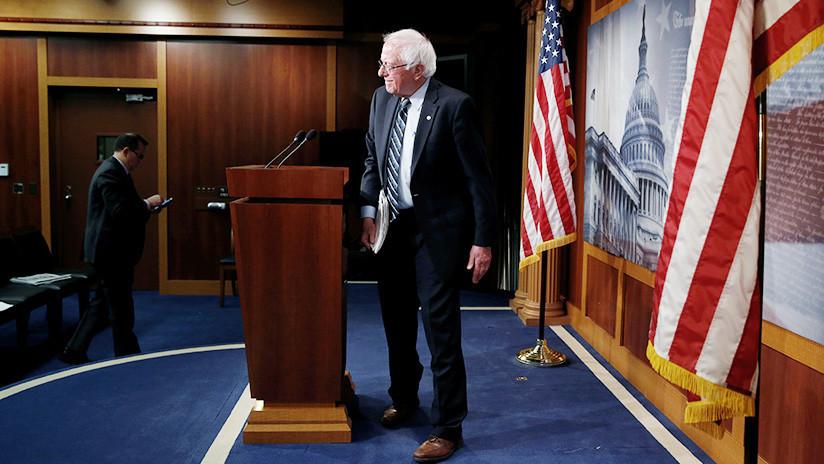 """""""Trastorno conspirativo"""": Bernie Sanders también es un 'agente del Kremlin', según una periodista de EE.UU."""