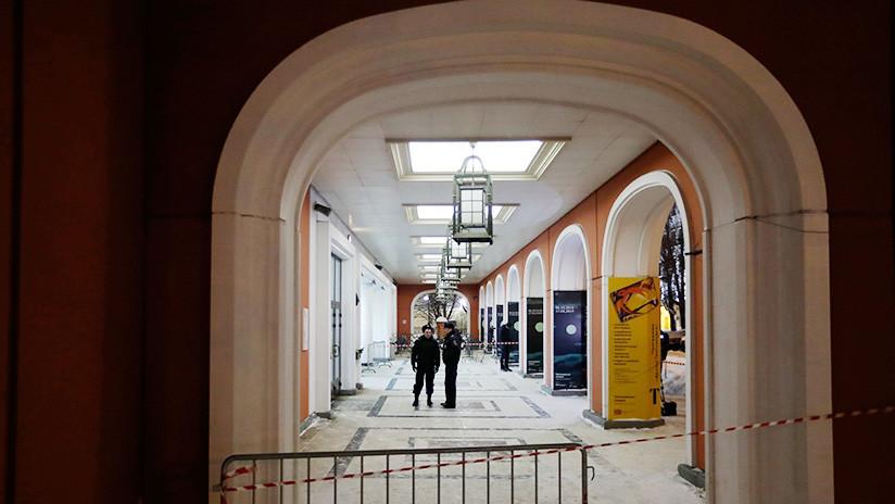 La Policía halla el famoso cuadro de Arjip Kuindzhi robado en un museo de Moscú