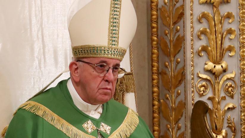 """El papa Francisco: """"Temo el derramamiento de sangre en Venezuela"""""""