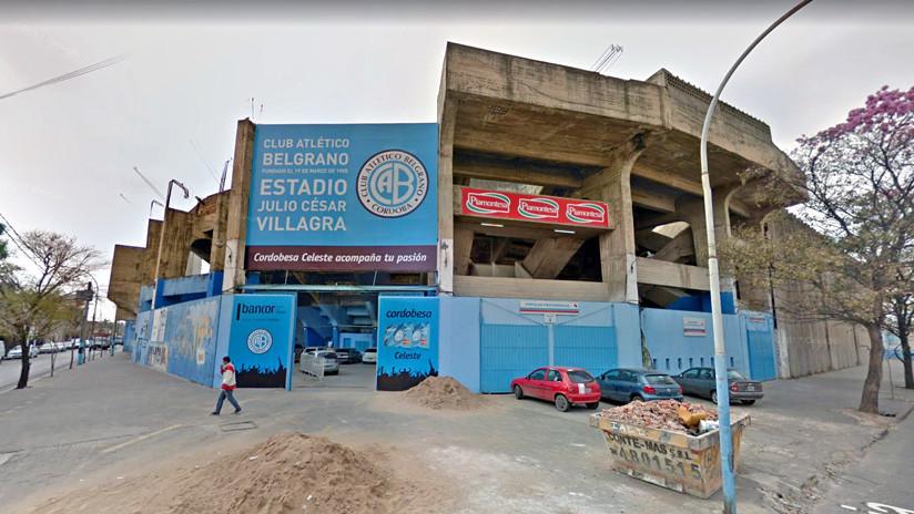 Un policía herido de gravedad tras el derrumbe de una pared en un estadio de fútbol en Argentina
