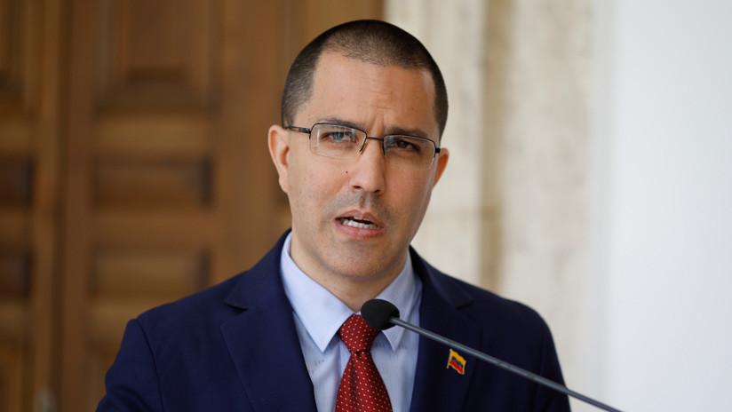 """Canciller venezolano: """"Exigimos al Gobierno de EE.UU. que hable con una sola voz"""""""