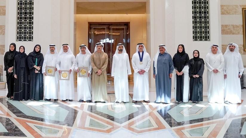 Los premios de igualdad de género en Emiratos Árabes Unidos, copados totalmente por hombres