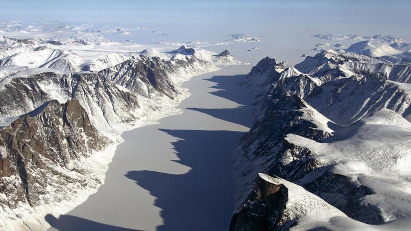 """""""Deja sin aliento"""": Aparece un paisaje ártico escondido bajo el hielo durante 40.000 años (FOTO)"""