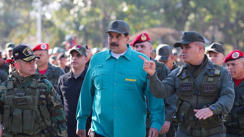 """Ministro de Defensa de Venezuela: """"Estamos viendo los mismos procedimientos aplicados en Libia"""""""
