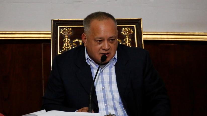 Cabello responsabiliza a EE.UU. por la integridad física de Juan Guaidó